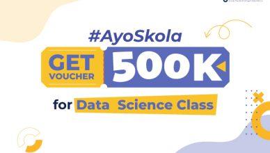 Get voucher #AyoSkolaDataScience